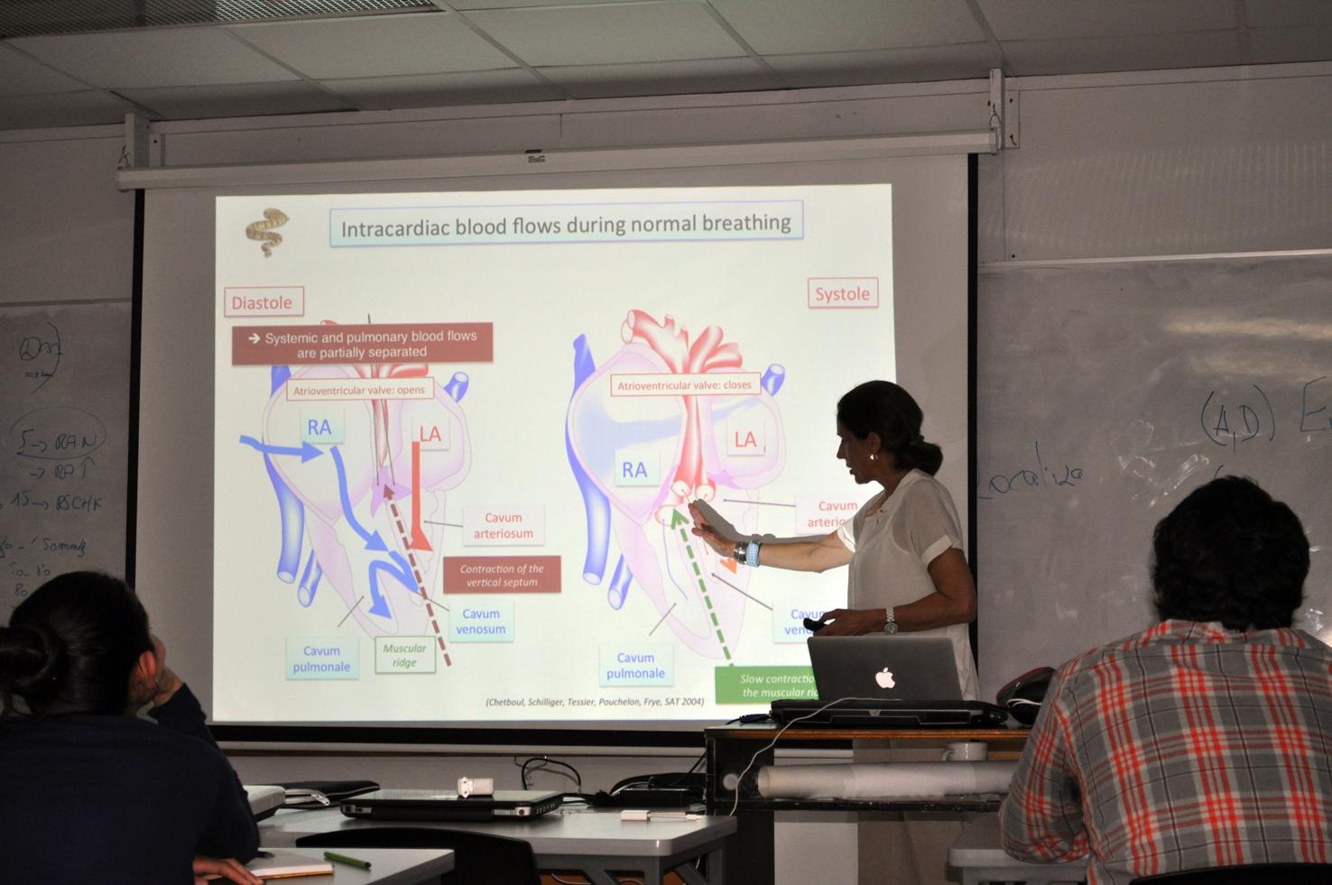 Conférences à l'Ecole de Médecine Vétérinaire, Université Nationale du Costa Rica (San José)